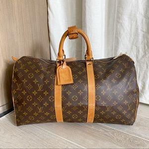 ♥️KEEPALL 45♥️ Authentic Louis Vuitton Travel Bag!